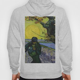 1888-Vincent van Gogh-The sower-32x40 Hoody