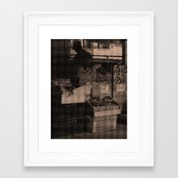 food Framed Art Prints featuring FooD by Christophe Chiozzi