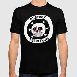 DESTROY EVERYTHING T-shirt