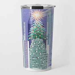 Christmas Park Travel Mug