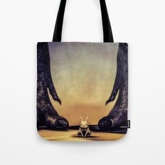 Watch Out Little Bunny Tote Bag