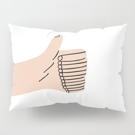 Thumb Up Pillow Sham