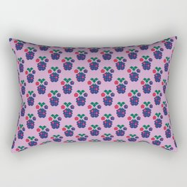 Fruit: Blackberry Rectangular Pillow