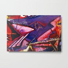 African American Masterpiece 'Jazz Club' by Norman Lewis Metal Print