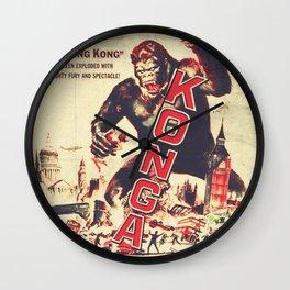 Konga - Retro Movie Wall Clock