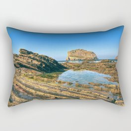 Gatelugatxe Rectangular Pillow