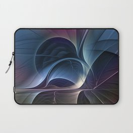 Fractal Mysterious, Colorful Abstract Art Laptop Sleeve