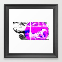 lisa d'amato of ANTM Framed Art Print