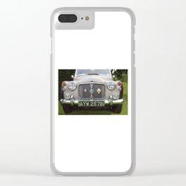 Classic British Rover Clear iPhone Case