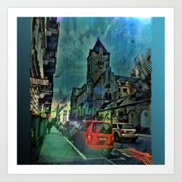 Chapel Street Nights Art Print
