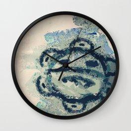 Taíno sun  Wall Clock