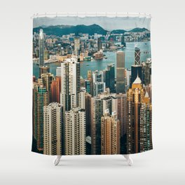 Golden Harbour Shower Curtain