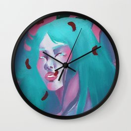 One sided love Wall Clock