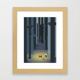 Kentucky Route Zelda - Lost Woods Framed Art Print