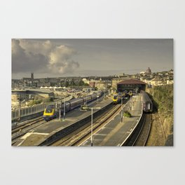 a Penzance Morning  Canvas Print