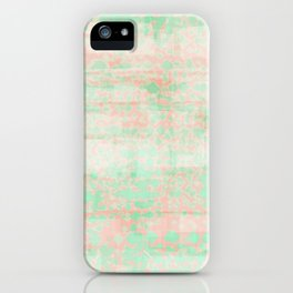 watermelon pixels iPhone Case