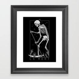 La Mort Framed Art Print