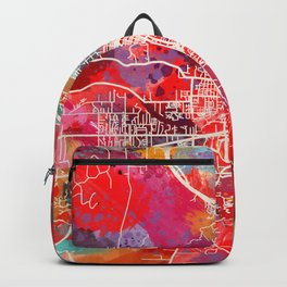 Grants Pass map Oregon OR 2 Backpack