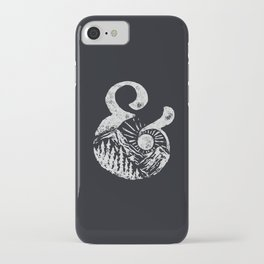 AMPERSAND & NATURE iPhone Case