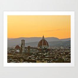 The Duomo. Florence, Italy Art Print