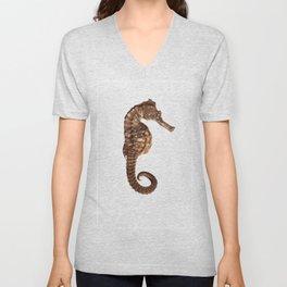 Seahorse Unisex V-Neck