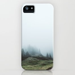 In the mountains again iPhone Case