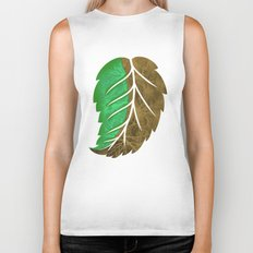 Drying Leaf Biker Tank