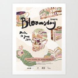 Bloomsday 2014 Art Print