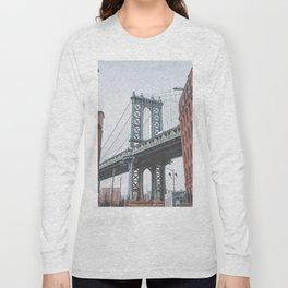 Dumbo Brooklyn New York City Long Sleeve T-shirt