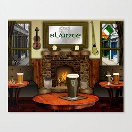 Irish Pub Canvas Print