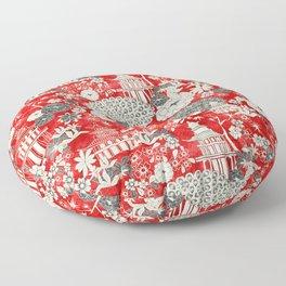 pagoda Floor Pillow