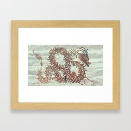 Firecrackers Framed Art Print