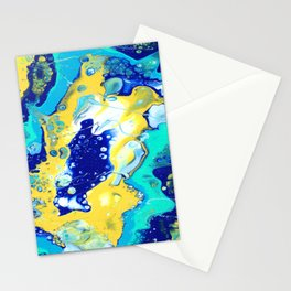 Paint Swirl Stationery Cards