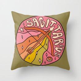 2020 Sagittarius Throw Pillow