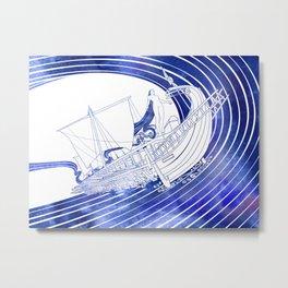 Nausithoe Metal Print