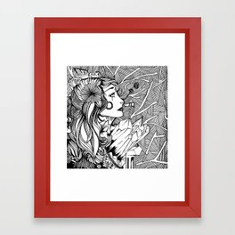 Anahata Framed Art Print