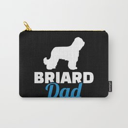 Briard Dad Carry-All Pouch