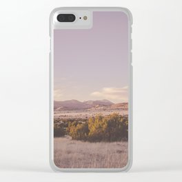 West Texas Wild Clear iPhone Case