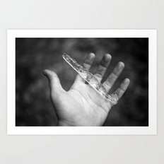 I once held you so close, but now you're just melting away.  Art Print