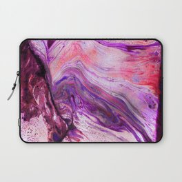Marbled Garnet Laptop Sleeve