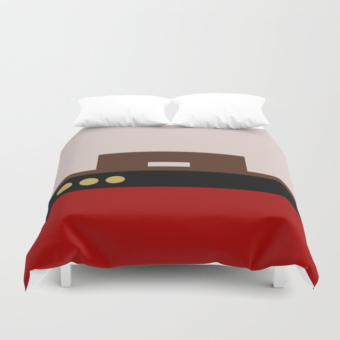 William Riker - Minimalist Star Trek TNG The Next Generation - Commander - startrek - Trektangles Duvet Cover