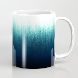 Teal Ombré Coffee Mug