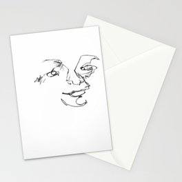 Happy Blind Drawing Stationery Cards