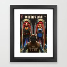 Androids Saga - The Creations of Dr Gero Framed Art Print