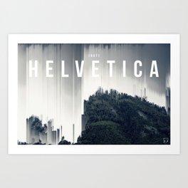 Not Helvetica Art Print