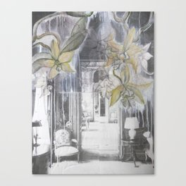 Orchids Full Interior Canvas Print
