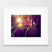 all time low Framed Art Prints featuring All Time Low - 2 by ijsw