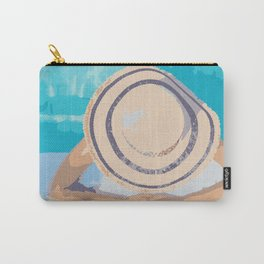Poolside Sunning Carry-All Pouch
