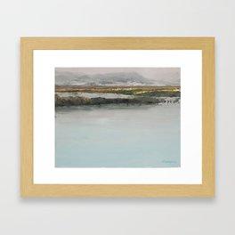 Bear Lake Refuge Framed Art Print
