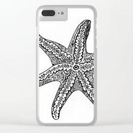 Seastars Clear iPhone Case